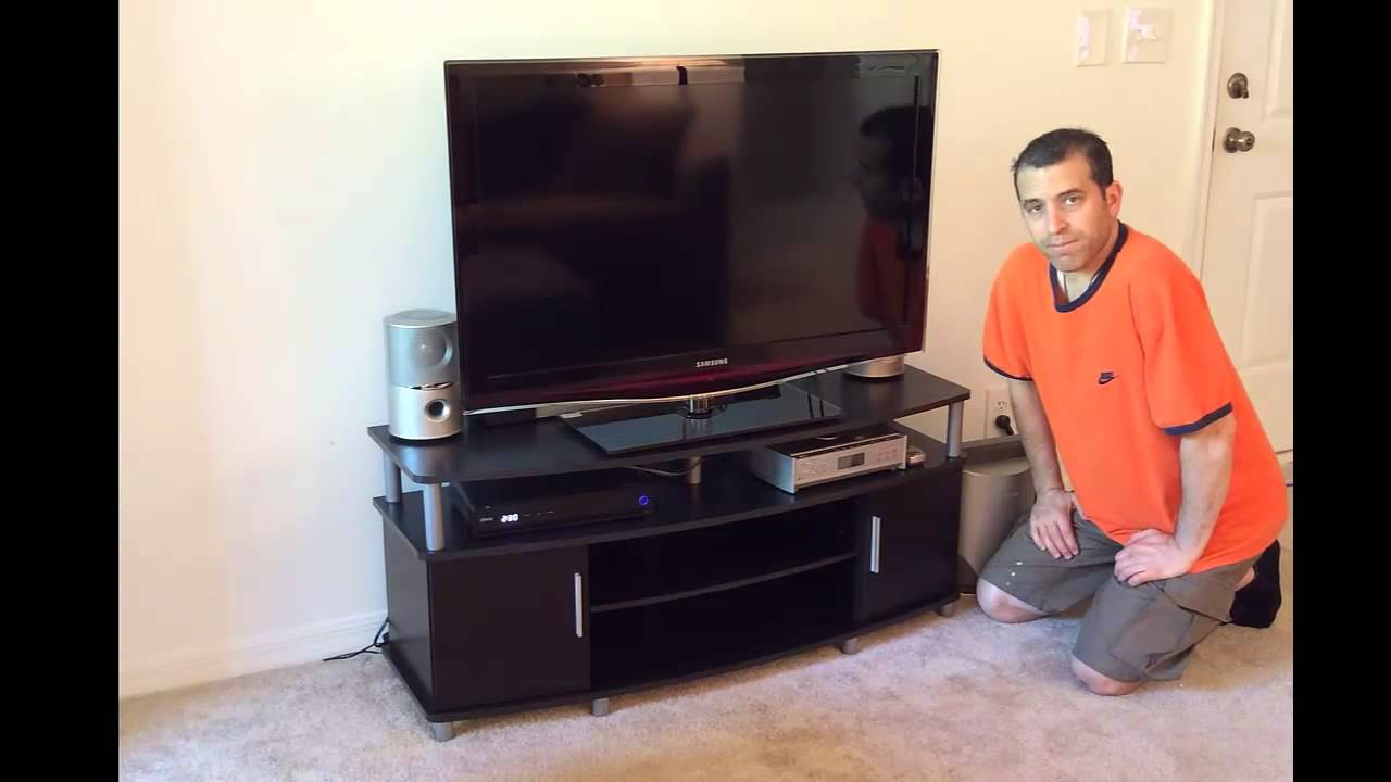 Altra Furniture Carson Tv Stand Review Youtube