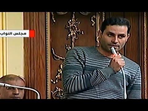 مشادة رئيس البرلمان مع النائب أحمد الطنطاوى 'متجيش بالزى دا تانى احنا مش فى ملعب كورة'
