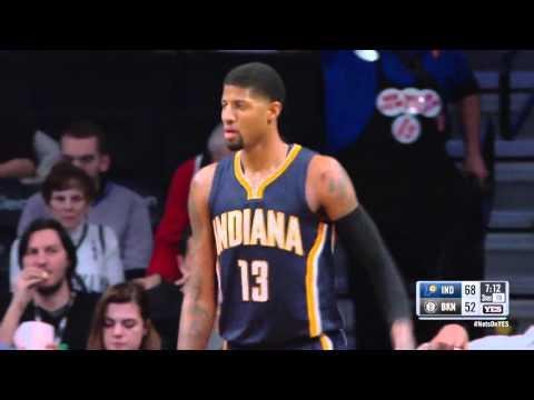 Indiana Pacers vs Brooklyn Nets   February 3, 2016   NBA 2015-16 Season