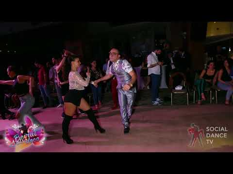 Edwin Rivera & Myrto Misyri - Salsa social dancing | Beirut Salsa Loca 2018