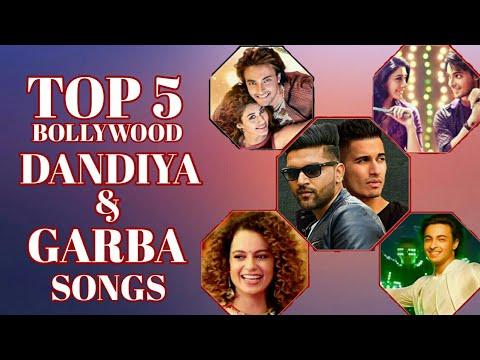 Top 5 Bollywood Dandiya & Garba Songs -2018   Navratri Bollywood Songs   Hindi Songs   V4H Music