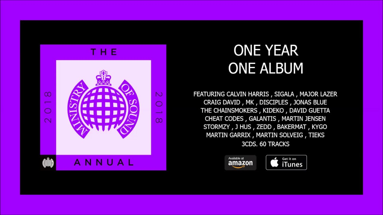 ministry of sound the annual 2018 free download