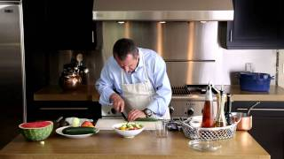 How To Make Tomato And Watermelon Salad At Home, With Gerald Hirigoyen | Pottery Barn