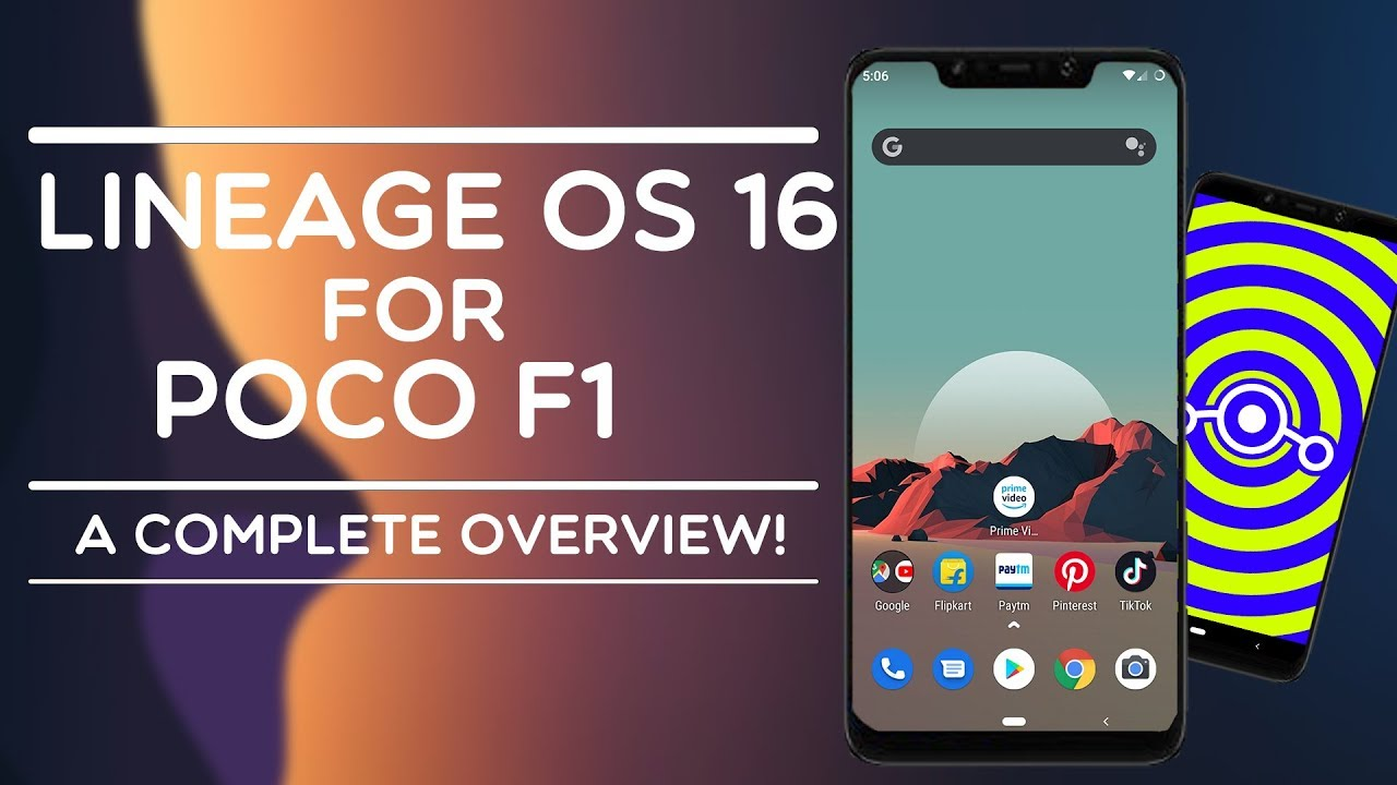 LINEAGE OS 16 (STABLE) For POCO F1- ANDROID 9 0 PIE REVIEW & FEATURES - ARE  WE CLOSE TO OFFICIAL ?