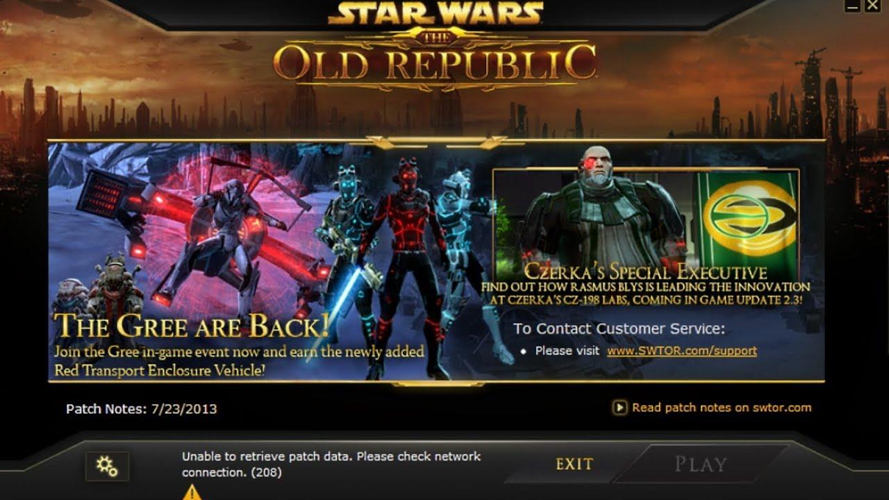 STAR WARS OLD REPUBLIC PATCH EBOOK