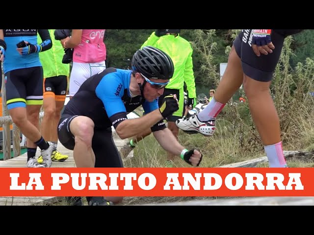 Zugasti en La Purito Andorra. Objetivo cumplido!!!