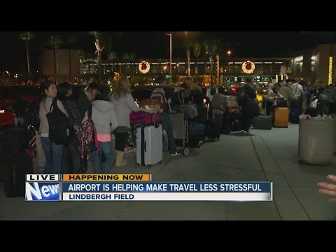 San Diego International Airport helping make travel less stressful