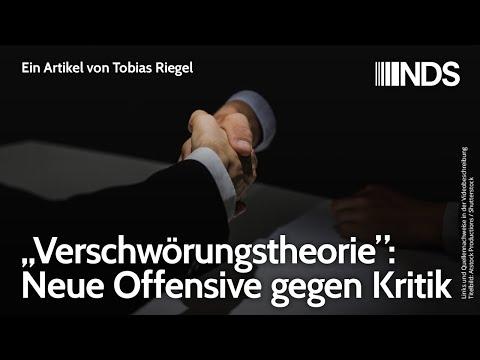 """""""Verschwörungstheorie"""": Neue Offensive gegen Kritik   Tobias Riegel   NachDenkSeiten-Podcast"""