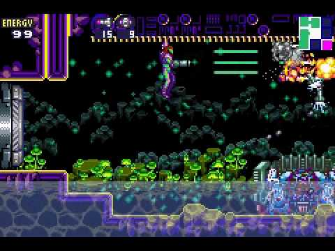 Metroid Fusion 1 No Damage Bosses Part 10 Box II AKA Electric Boogaloo Or Maybe Dat Wave Beam