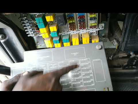 Fuse Box Fuse & Relay System. .horon Relay. Fuse .head Light Relay. Fog Light Relay. Flasher.