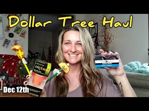 Dollar Tree Haul | All NEW Items | I Open Everything/ Dec 12th