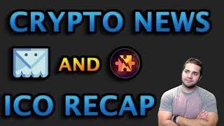 Crypto News and ICO Recap + Big Upcoming ICO
