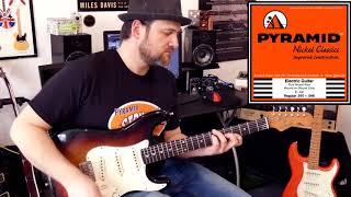 Pyramid Electric Guitar String Comparison Part 1 - Clean Tones