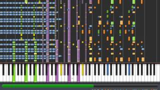 Kitsune² - Rock My Emotions (Synthesia Impossible) [midi download]