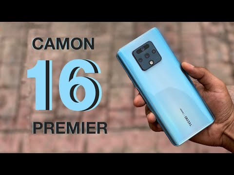 TECNO Camon 16 Premier Unboxing and Quick Review - Better Than The Camon 16 Pro