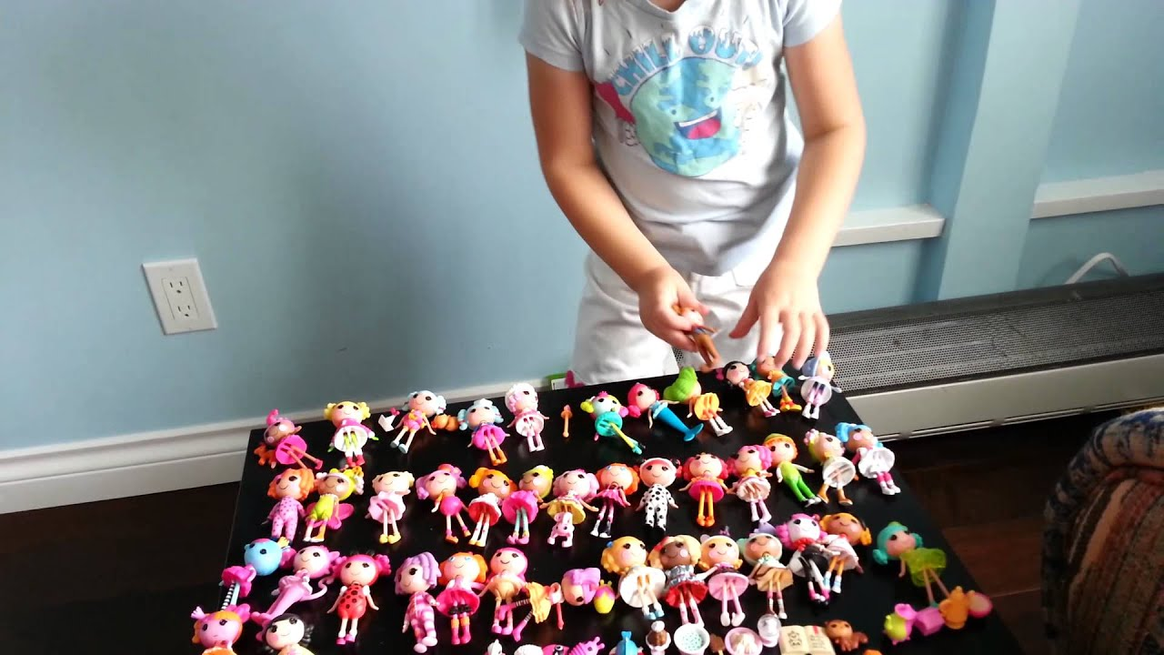 Lalaloopsy mini collection - YouTube