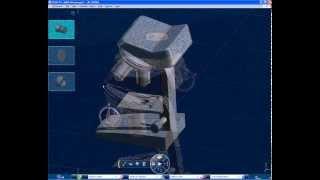 Быстрая разработка 3D-модели микроскопа в CATIA V6