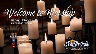 Sunday Worship – October 25th, 2020