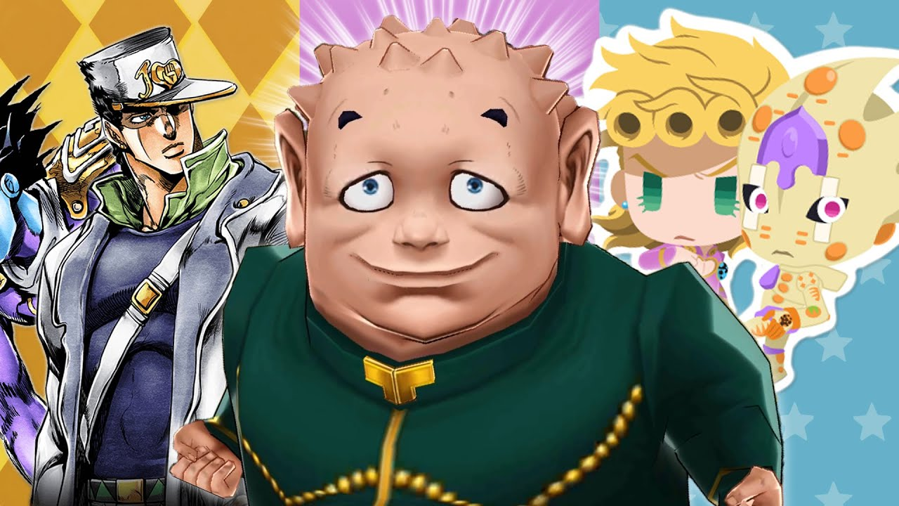 The Bizarre World of JoJo Gacha Games