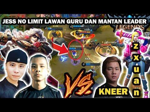 EVOS vs Squad ZXUAN,HALLU,KNEER : Jess No Limit pakai Lancelot