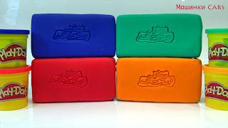 play doh learn color video for kids / cars toys JAGUAR, Jeep, Ford Sport /детский канал машинки cars