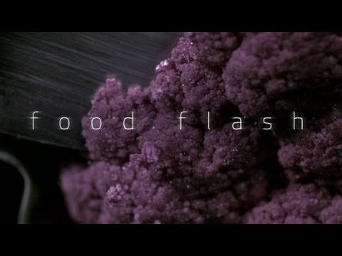 Save Slow Motion Chopping Cauliflower - Food Flash Snapshots