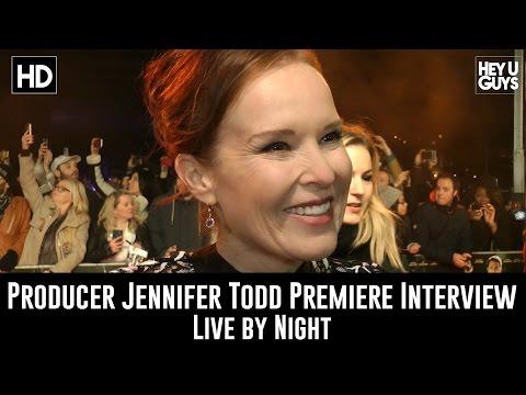 Producer Jennifer Todd Premiere   Live by Night