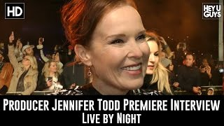 Producer Jennifer Todd Premiere Interview - Live by Night