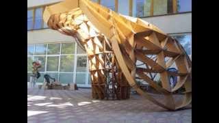 Apx+ Workshop 2012 Pavilion Parametric Design Rhino 3d Grasshopper Pavilion
