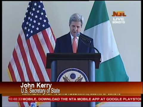 US Secretary Of State John Kerry Meets Sultan Of Sokoto