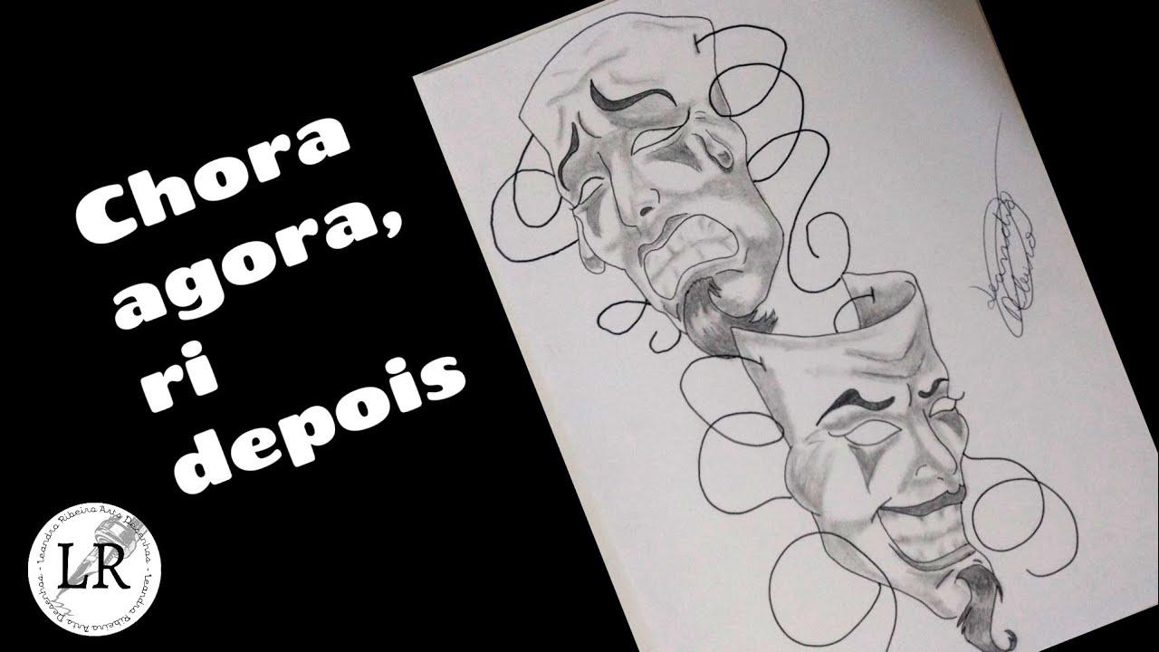Como Desenhar Chora Agora Ri Depois Speed Drawing How To Draw