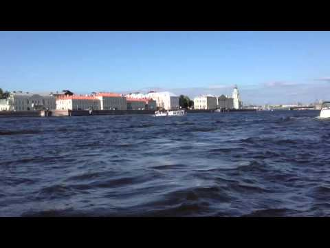 A private boat ride in St Petersburg