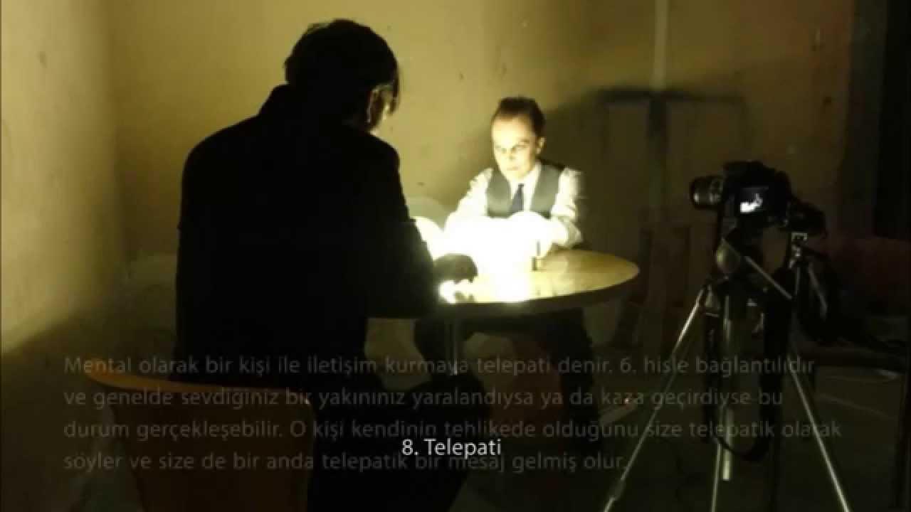 paranormal yetenek testi