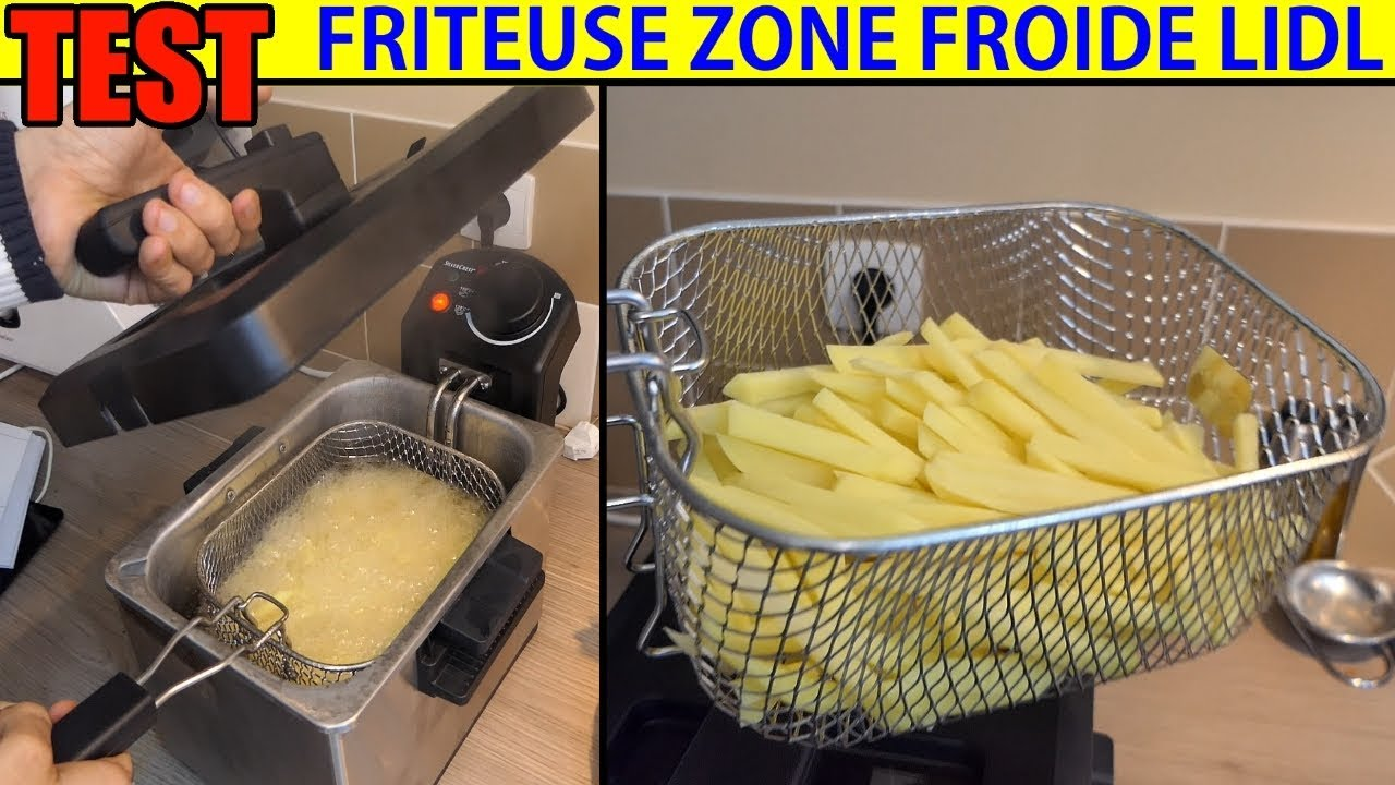 friteuse lidl silvercrest zone froide sef 2300w cool zone deep fat fryer kaltzonen fritteuse. Black Bedroom Furniture Sets. Home Design Ideas