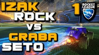 EKIPA Rocket League (1/3) Izak i Rock vs Graba i Seto
