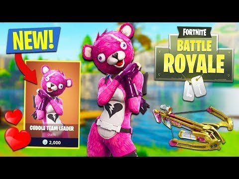 Fortnite new cuddle team leader outfit youtube - Cuddle team leader from fortnite ...
