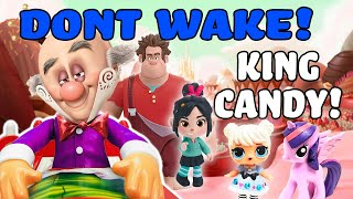 Ralph Breaks the Internet Don't Wake Daddy Game with Vanellope | My Little Pony Adventures
