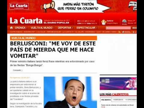 Berlusconi Italia Paese di Merda.wmv