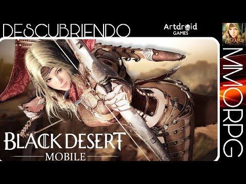 Black Desert! El mejor MMORPG para smartphone ya se puede descargar!