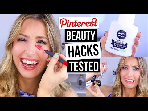 Pinterest Beauty Hacks TESTED #9