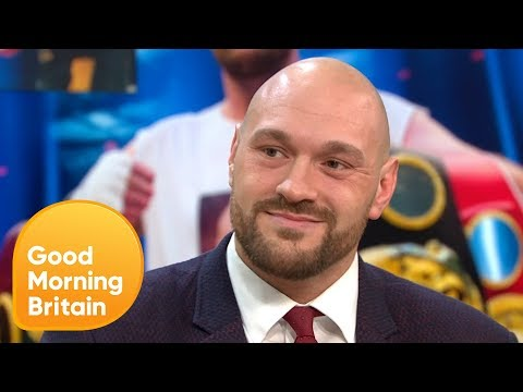 Tyson Fury Feels Refreshed Ahead of His Comeback To Boxing | Good Morning Britain