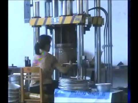 Hydraulic press for aluminum pressure cooker  production line from Sunglory