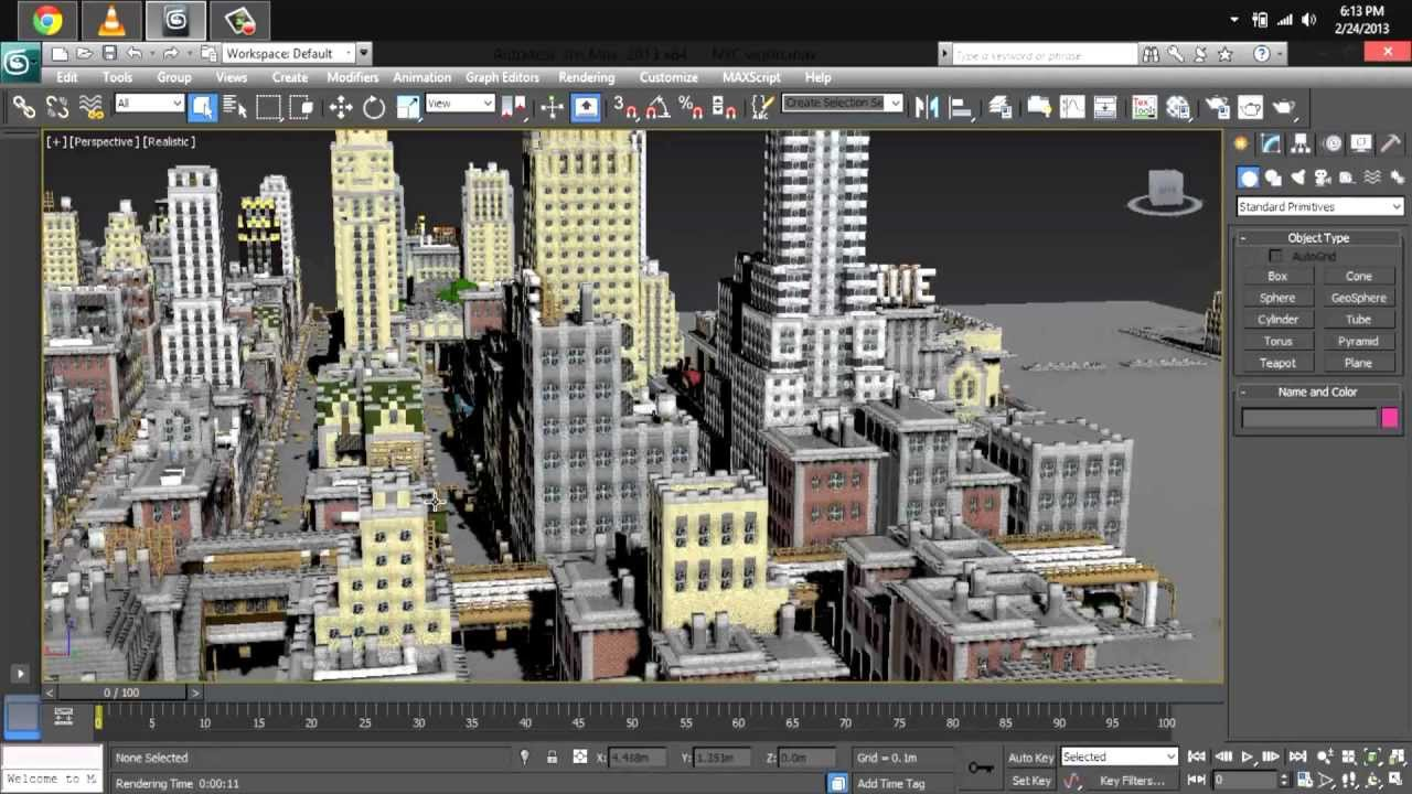 MINECRAFT NEW YORK CITY 3D MODEL