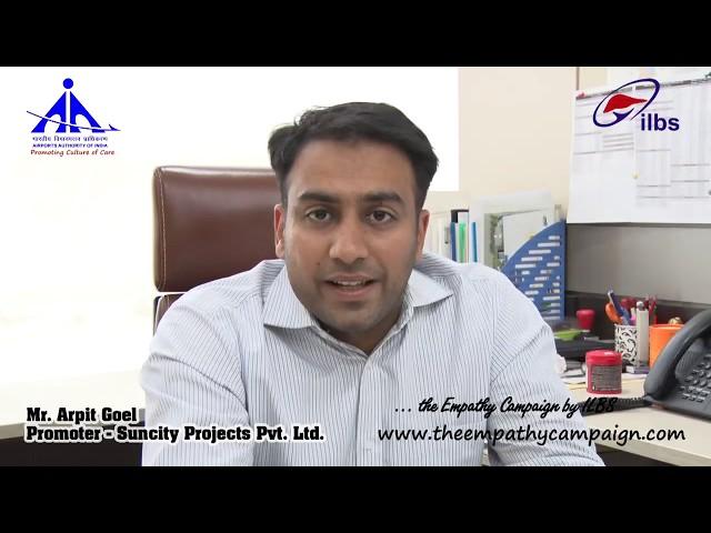 Message From Mr. Arpit Goel, Promoter Suncity Group