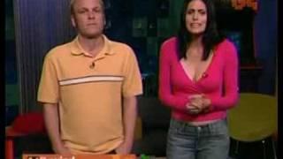 Morgan Webb's big tits