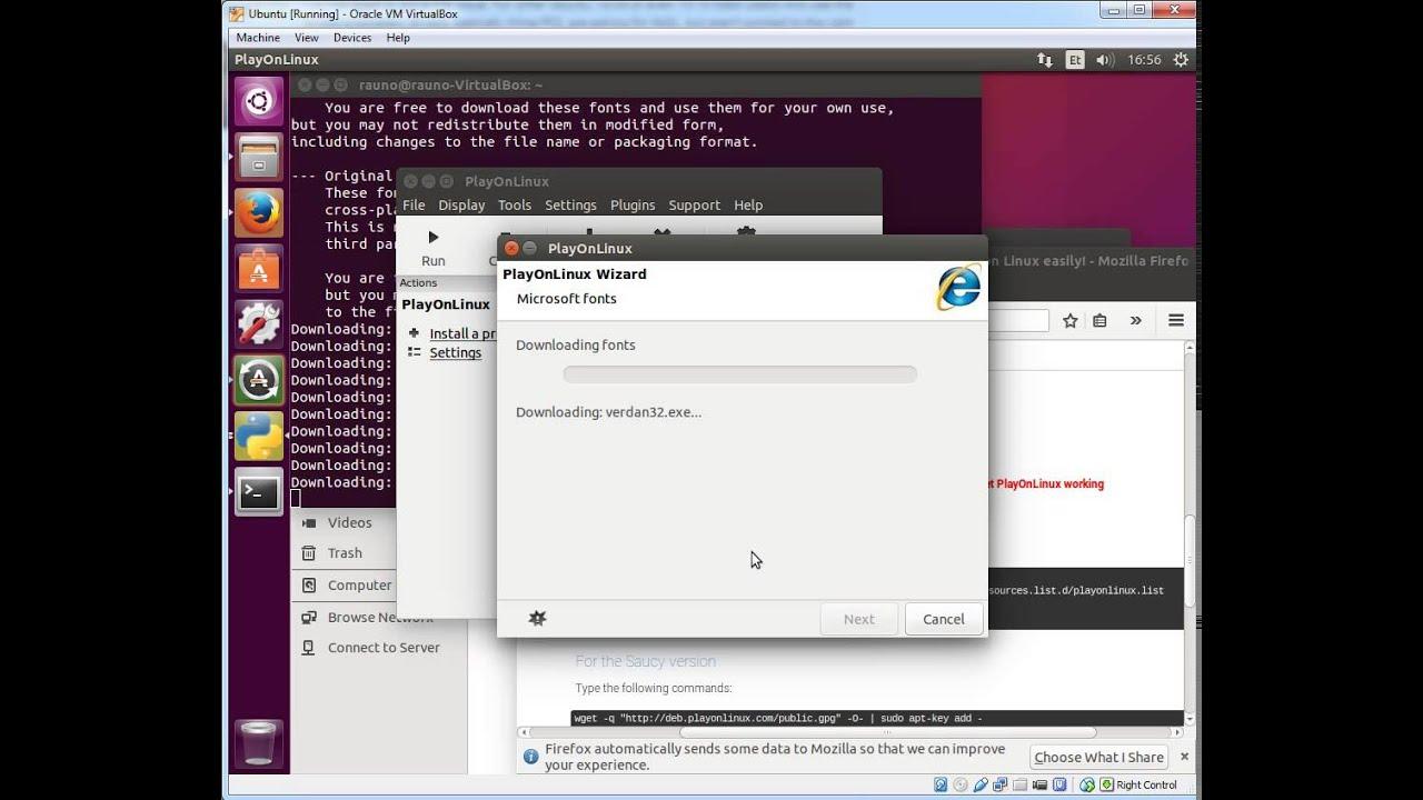 Ubuntu 15 10 Windows Skype desktop with Wine