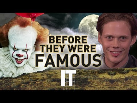 IT 2017  Before They Were Famous  Pennywise  Bill Skarsgård