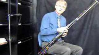 First Bassoon lesson part 2