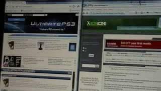 Test de vitesse entre google chrome et Internet explorer 7