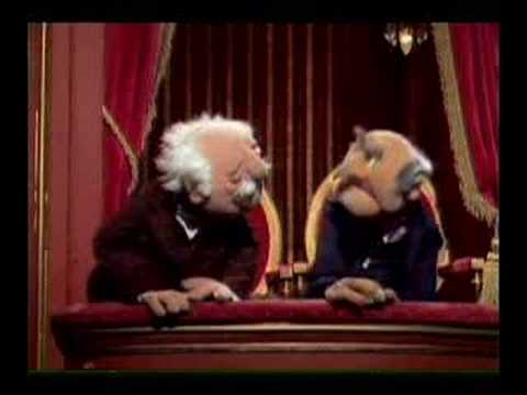 Derek and Clive are muppets
